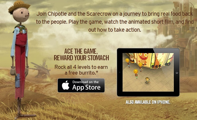 Image with information regarding Scarecrow on mobile devices