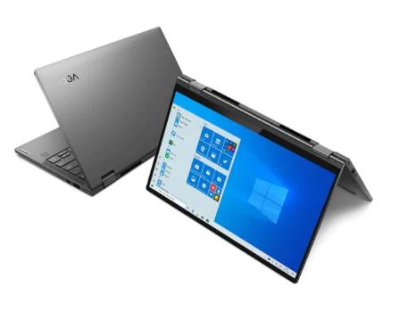 Lenovo Yoga C740 as a tablet