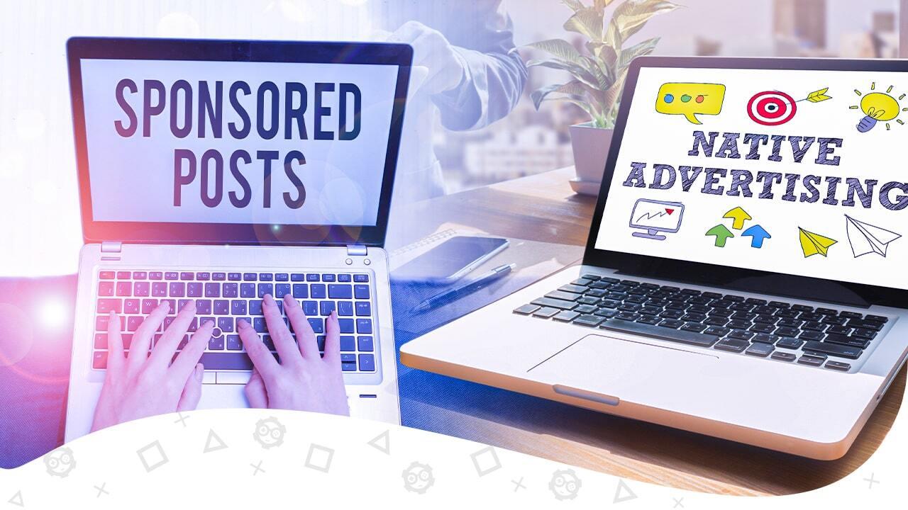 sponsored content vs native advertising