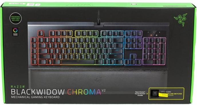 Razer Blackwidow Chroma v2 packaging