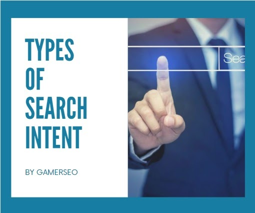 types of search intent by gamerseo