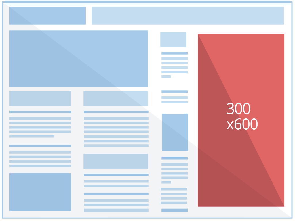 half-page reference size