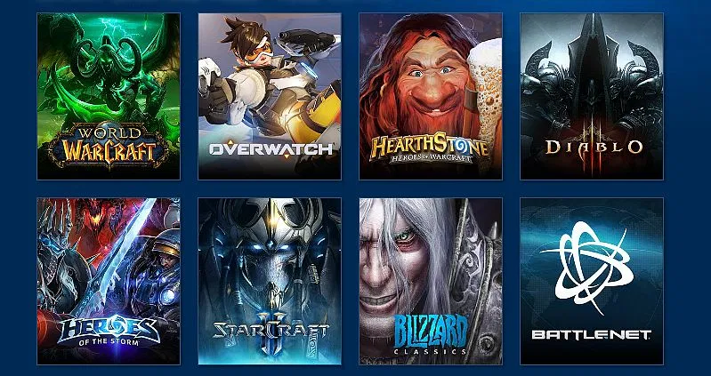 examples of Blizzard projects