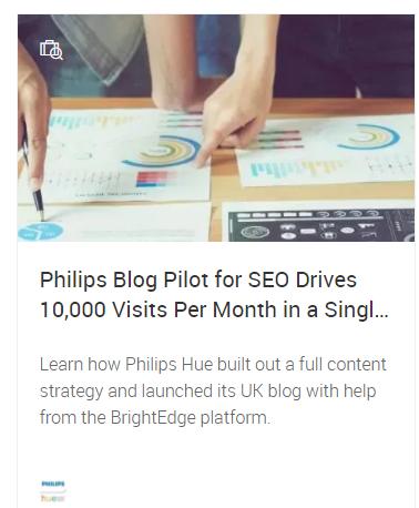 navigation in Brightedge website