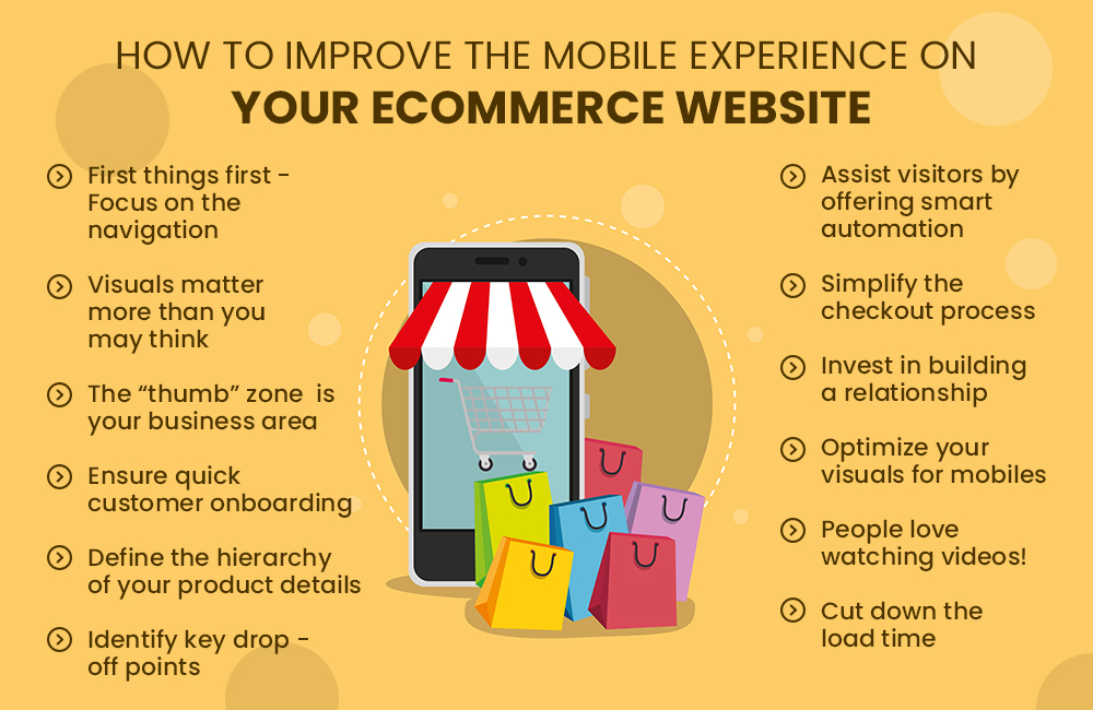 improving the mobile experience on eCommerce stores