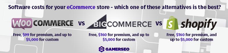 comparing the bigger eCommerce platforms