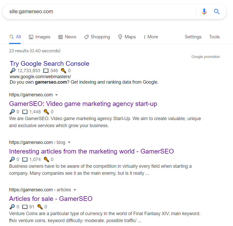 accessibility check for gamerseo
