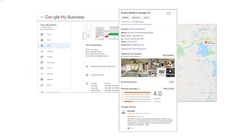 Google Business Profile to generate leads