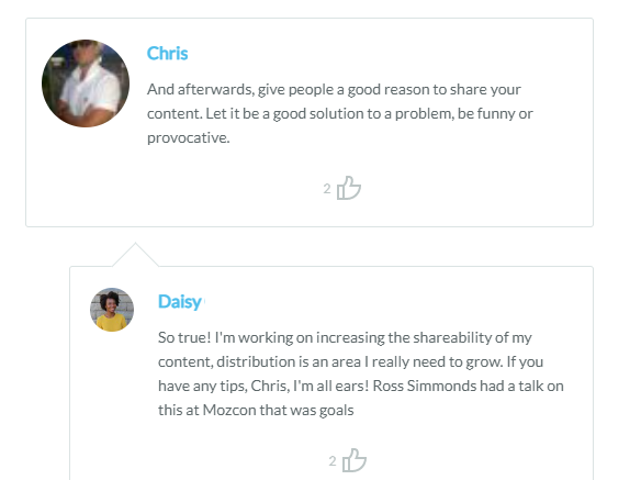 comments on Moz business blog