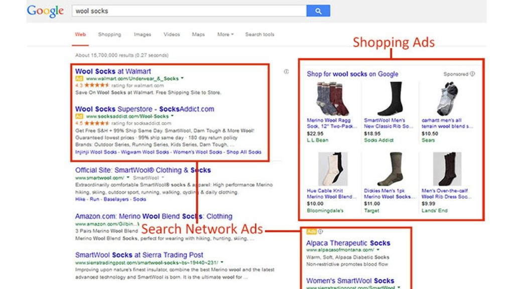 Targeting your competition in Google Maps, Shopping, Google Images and search partners