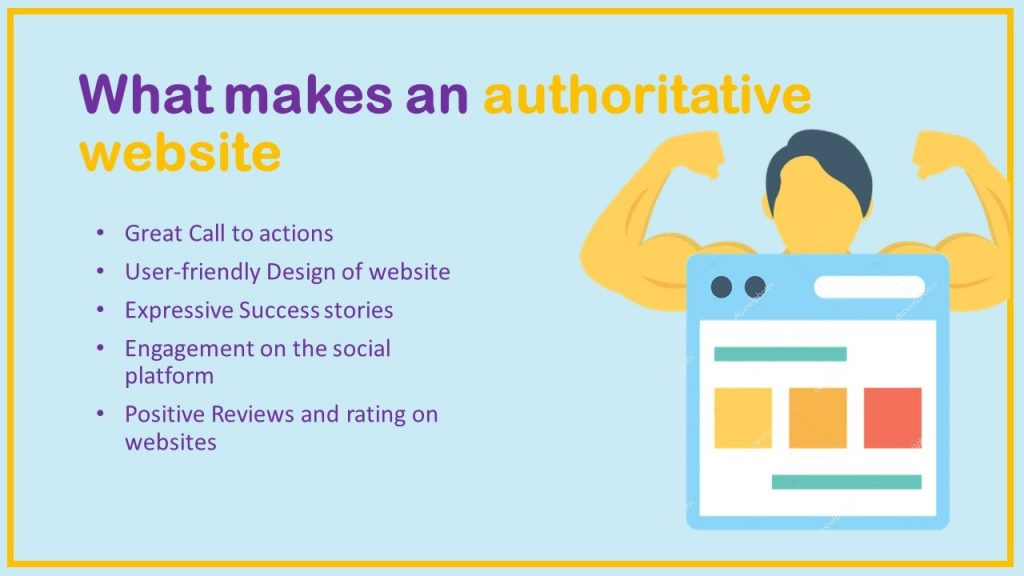 what makes an authoritative website