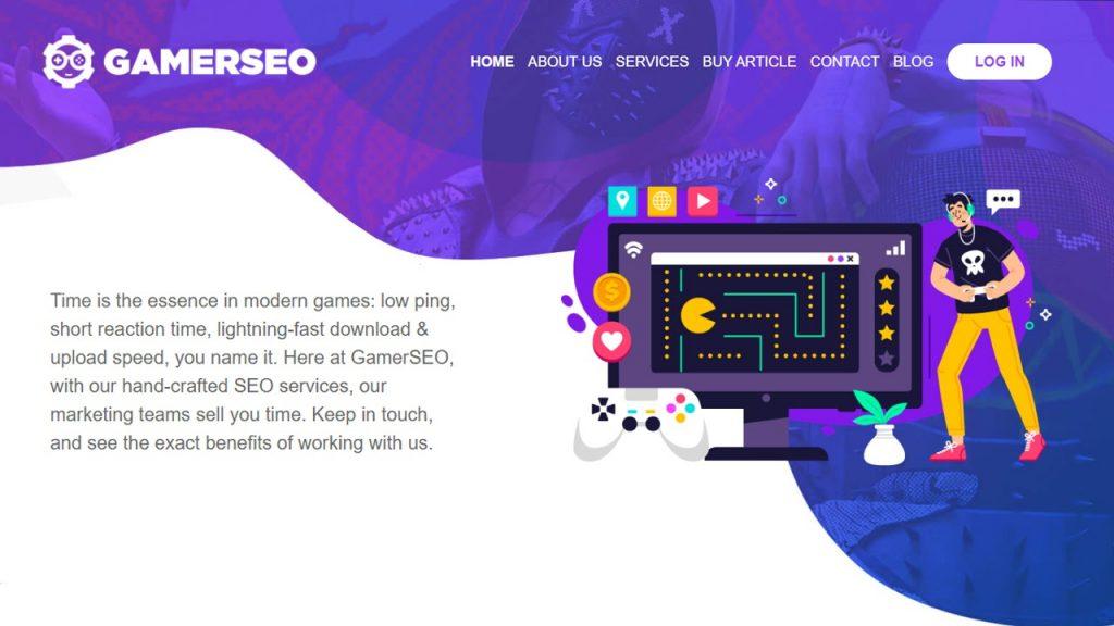 gamerseo homepage