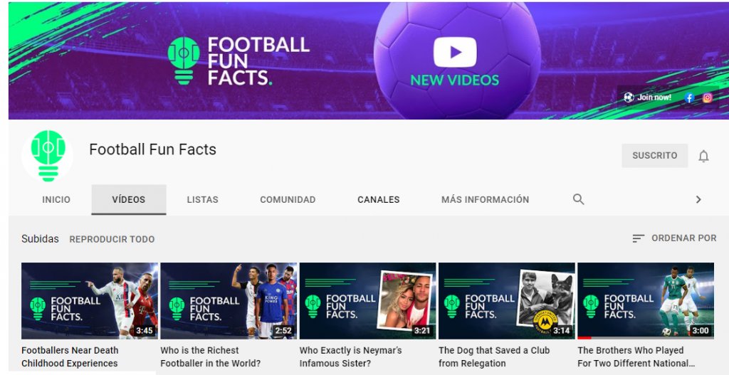 video series of Football Fun Facts title tactics