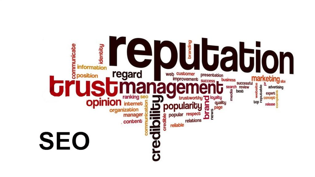 SEO brings company credibility